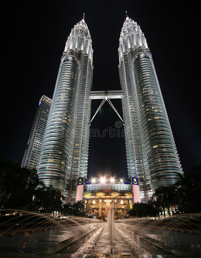 petronas towers twin στοκ φωτογραφία με δικαίωμα ελεύθερης χρήσης