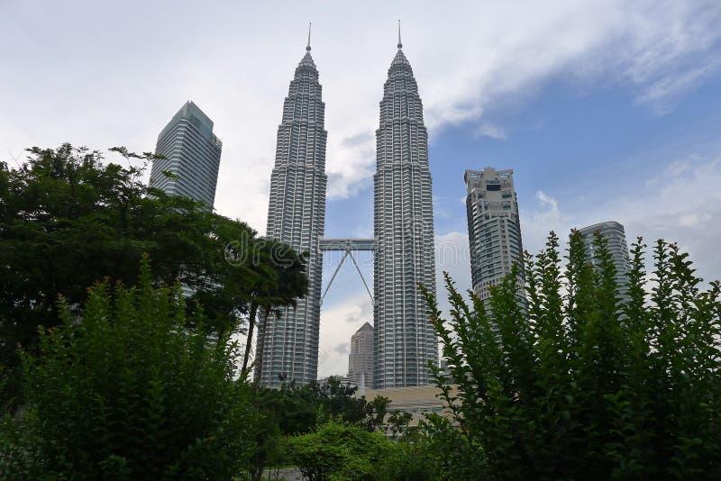 Petronas tweelingtorens royalty-vrije stock foto