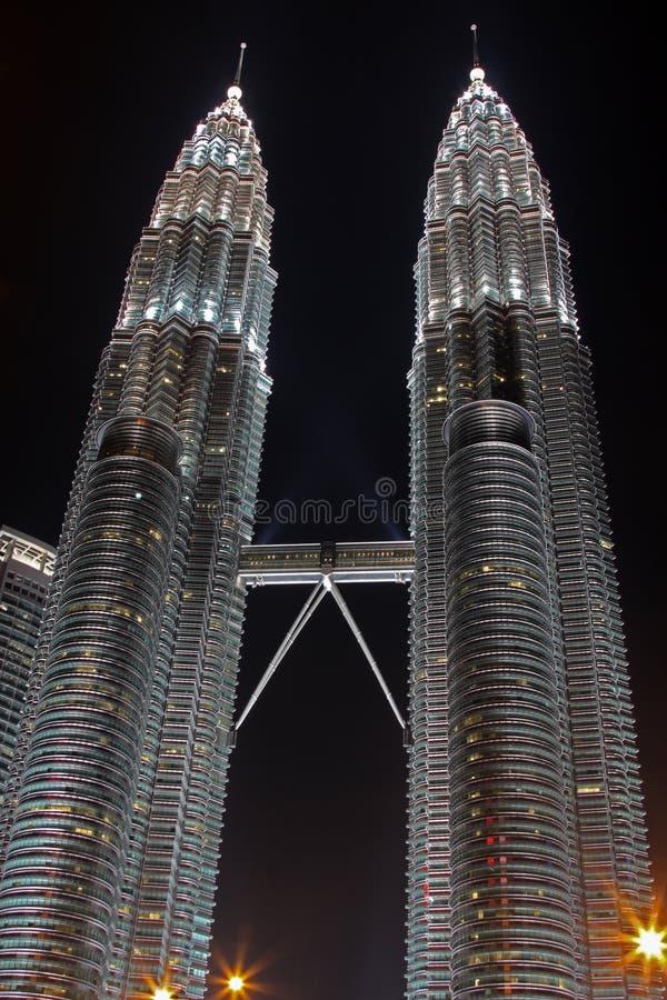 Petronas Twin Tower stock photos