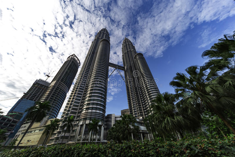 Petronas twin Tower royalty free stock photos
