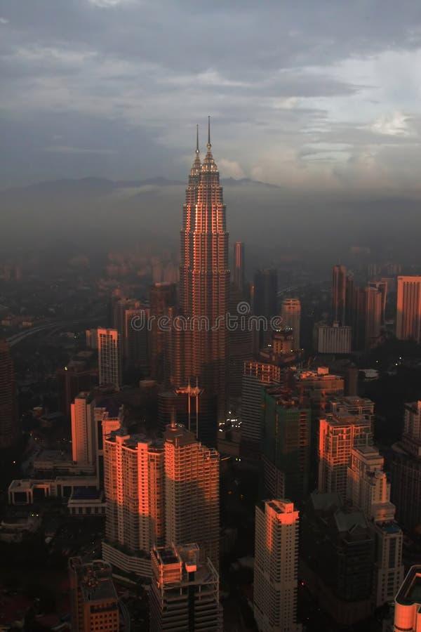 Petronas-Twin Tower, Kuala Lumpur lizenzfreies stockbild