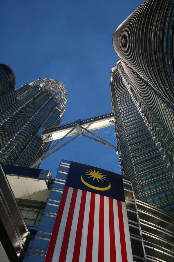 Petronas_twin_towers fotos de archivo