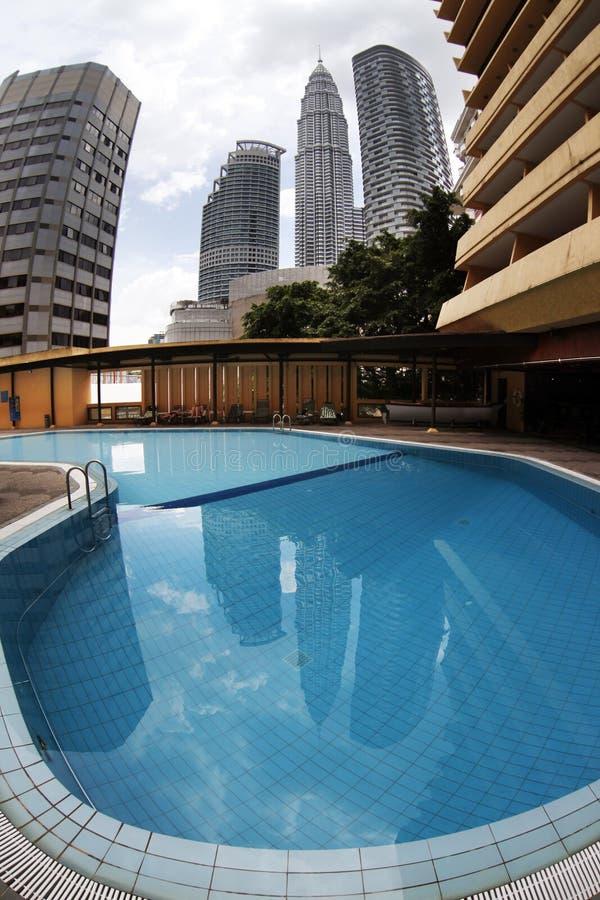 Free Petronas, Twin Towers Royalty Free Stock Photography - 14042847