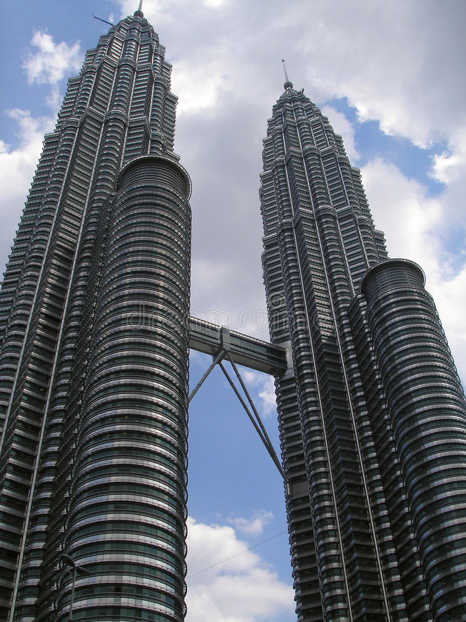 Download Petronas Twin Towers stock photo. Image of commerce, marvel - 7220750