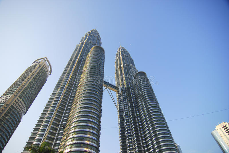 Petronas Twin Towers Malaysia royalty free stock photo