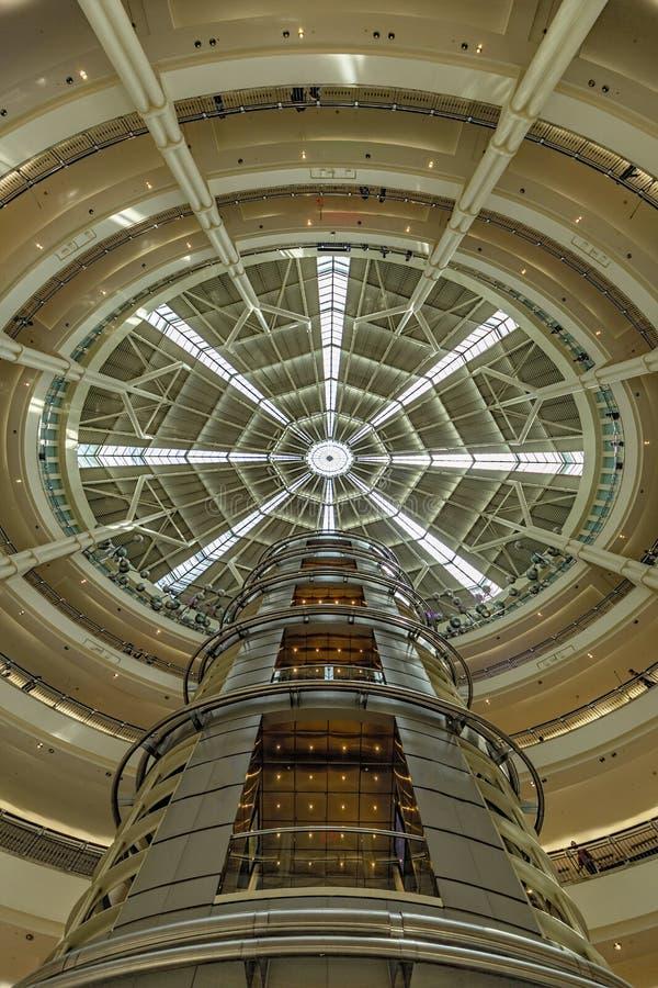 Petronas Twin Towers Shopping Mall stock photo