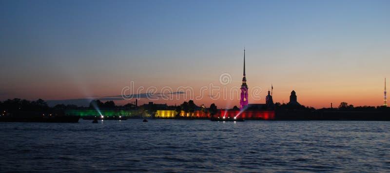 petropalovskay的城堡 免版税库存图片
