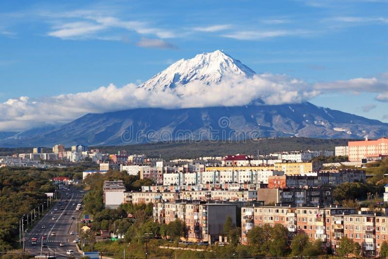 Petropavlovsk-Kamchatsky stockfotos