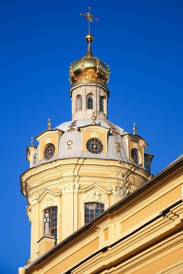 Petropavlovskaya-Festung in St Petersburg, Russland lizenzfreie stockbilder