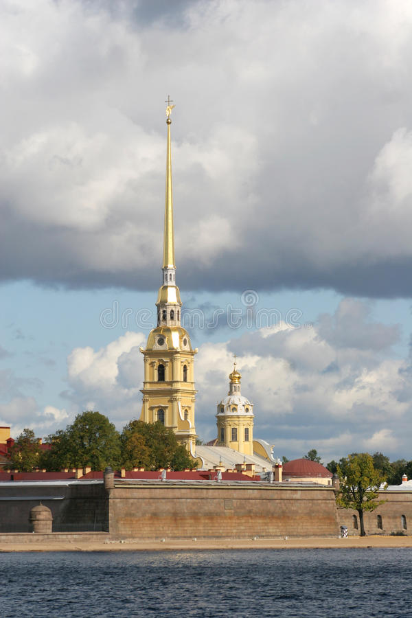 Petropavlovskaya fortress3 lizenzfreies stockbild