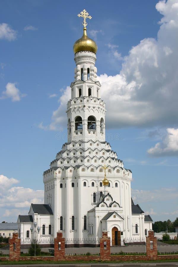 Petropavlovsky cathedral in prohorovka stock image