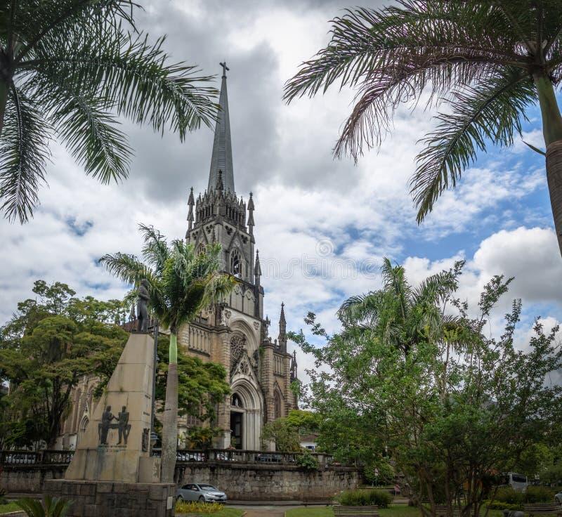 Petropolis katedra święty Peter Alcantara, Petropolis -, Rio De Janeiro, Brasil obraz royalty free