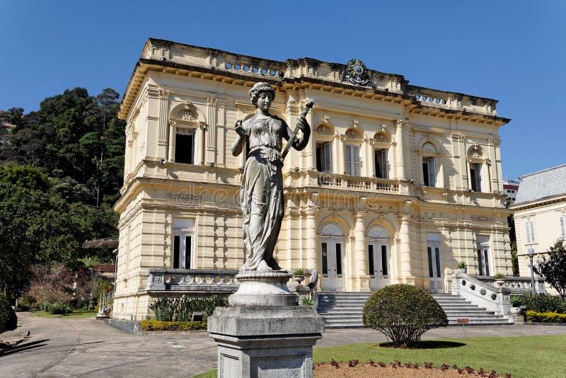 petropolis rio дворца негра стоковые изображения