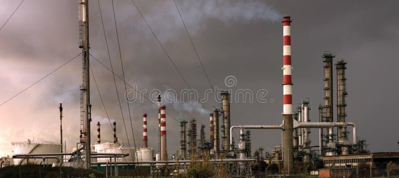Petrorefinery photographie stock