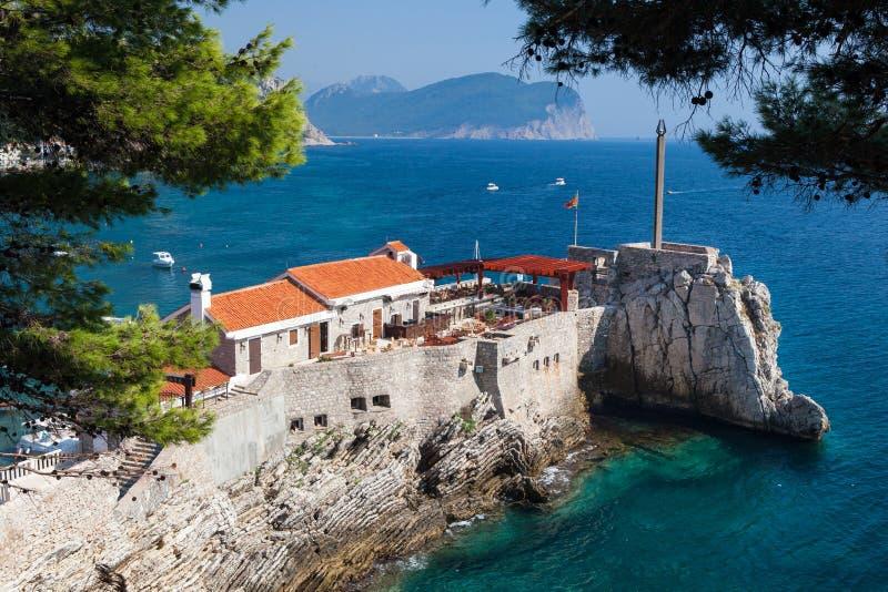 Petrovac, Montenegro fotos de stock