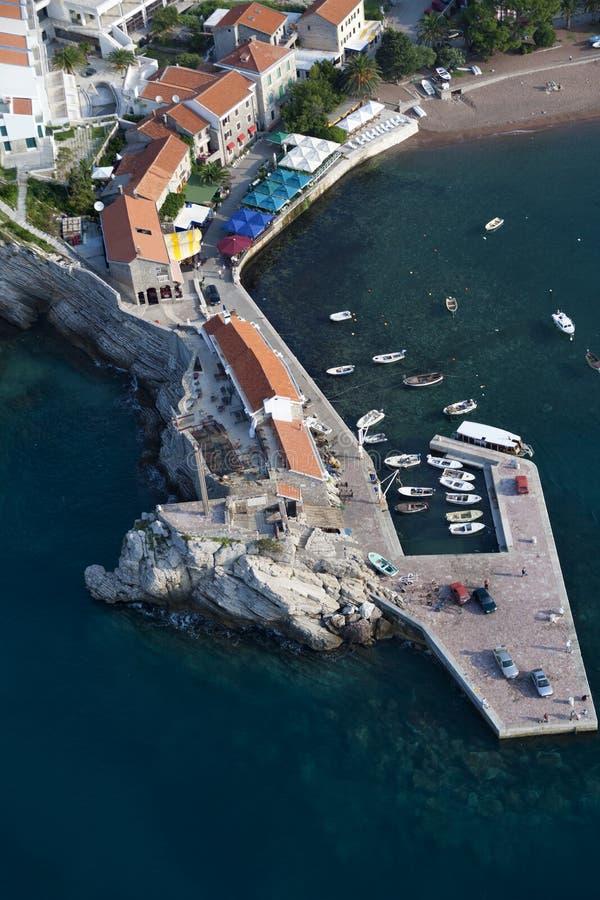 Petrovac, Montenegro stock foto's