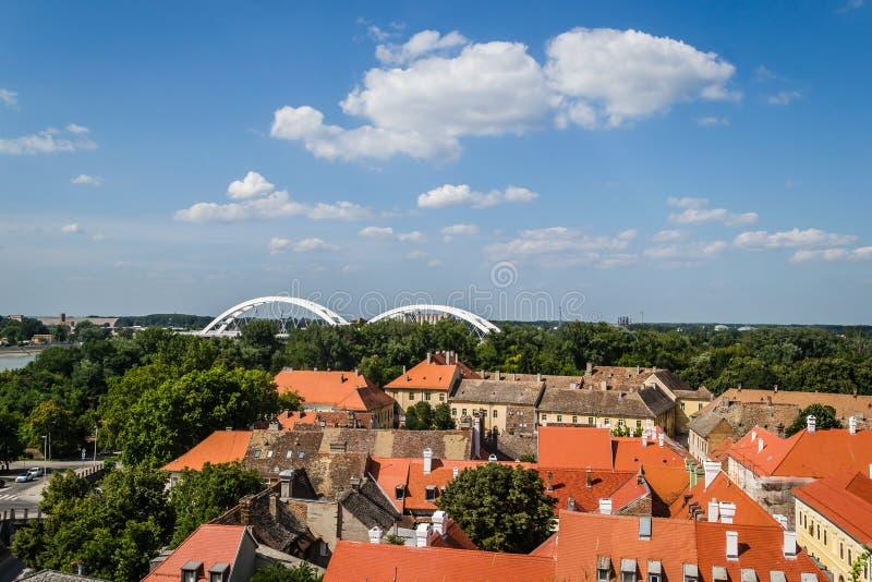 Petrovaradin, Сербия - 17-ое июля 2019: Крепость Petrovaradin; стоковая фотография rf