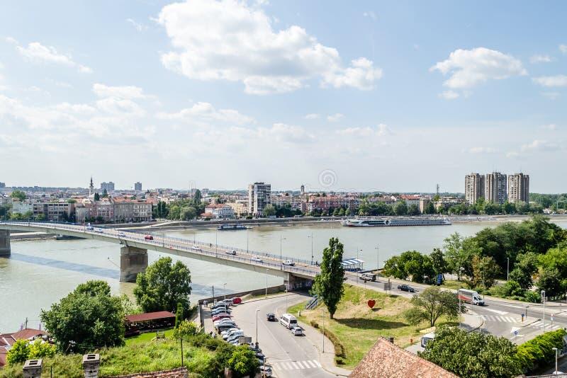 Petrovaradin, Сербия - 17-ое июля 2019: Крепость Petrovaradin; стоковое изображение rf