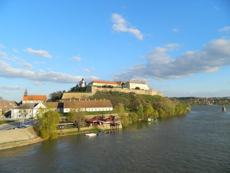 Petrovaradin fästning arkivfoto