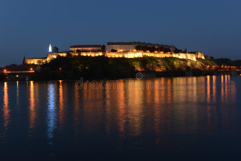 Petrovaradin forteca, Novi Sad, Serbia fotografia stock