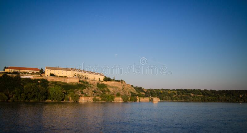 Petrovaradin Fortress - Novi Sad stock images