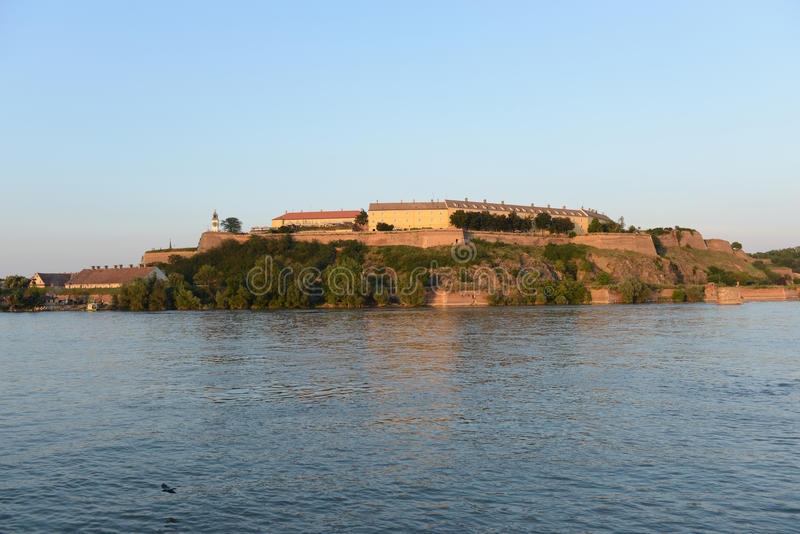 Petrovaradin fortress, Novi Sad, Serbia stock photo