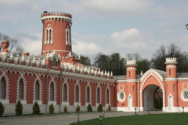 Petrovsky palace, Moscow royalty free stock images