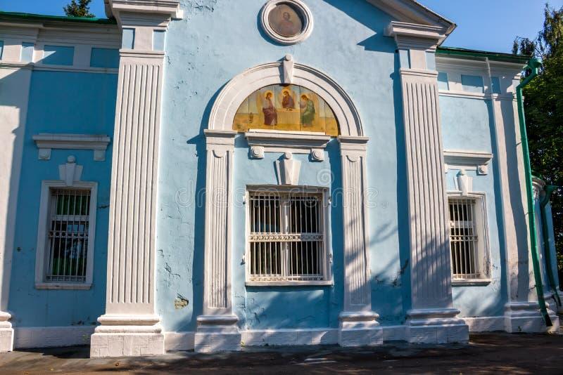 PETROVSKY ROSJA, AUG, - 2017: Kościół Peter zdjęcie royalty free
