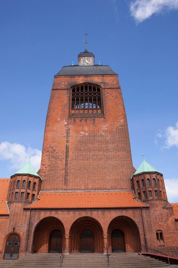 Petruskirche in Kiel, Deutschland royalty-vrije stock afbeelding