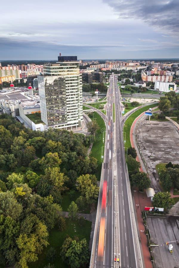 Petrzalka, Bratislava, Slovaquie images libres de droits