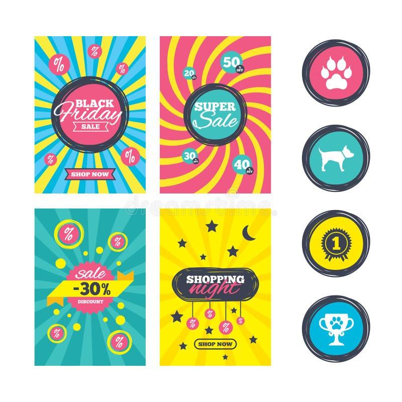 Download Pets иконы Лапка кота с знаком муфт Иллюстрация вектора - иллюстрации насчитывающей ярлык, лапка: 81804788