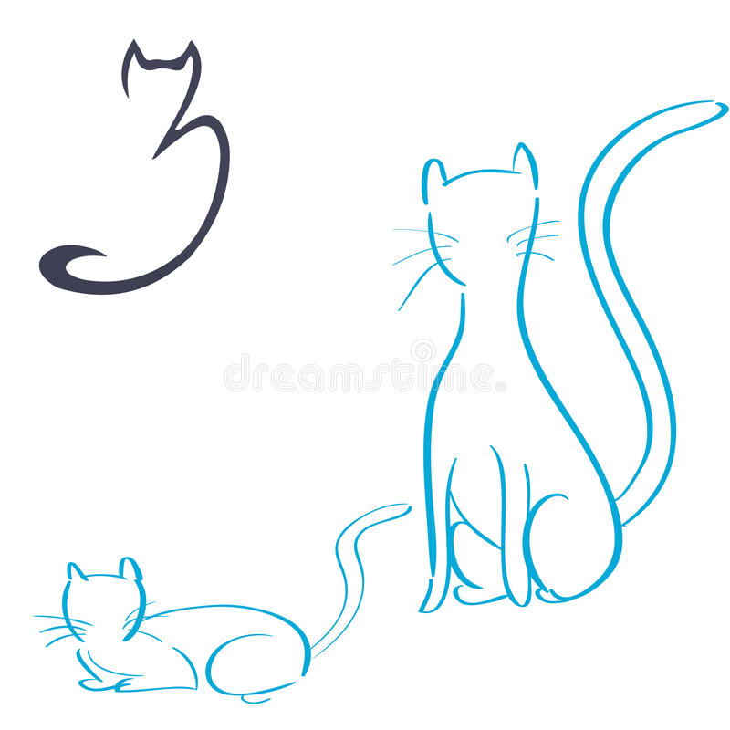 pets ilustração stock