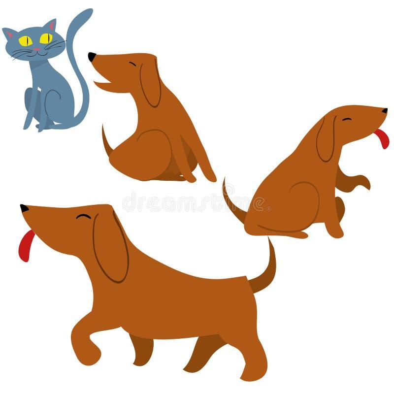 pets ilustração royalty free