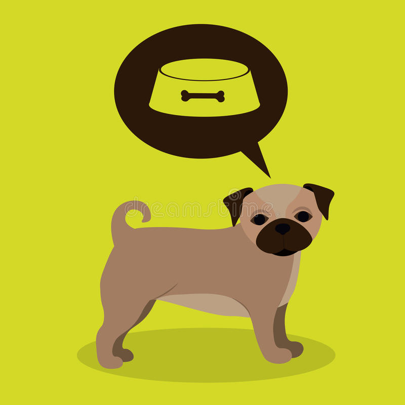 Pets design royalty free illustration