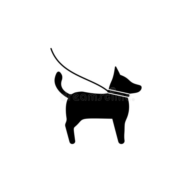 Pets, dog icon. Simple glyph vector of universal set icons for UI and UX, website or mobile application. On white background vector illustration
