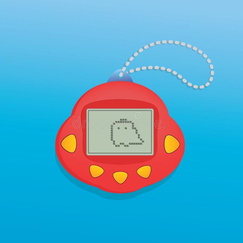 Pets pocket game. Pets pocket game vector illustration royalty free illustration