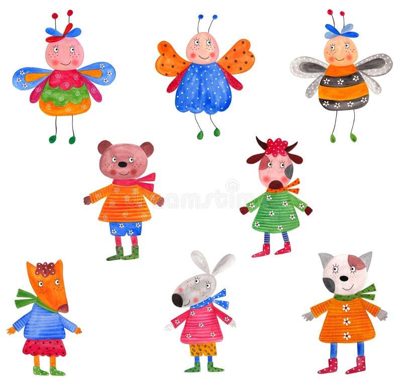 Download Pets. Set Of Decorative Elements Stock Illustration - Image: 22689925