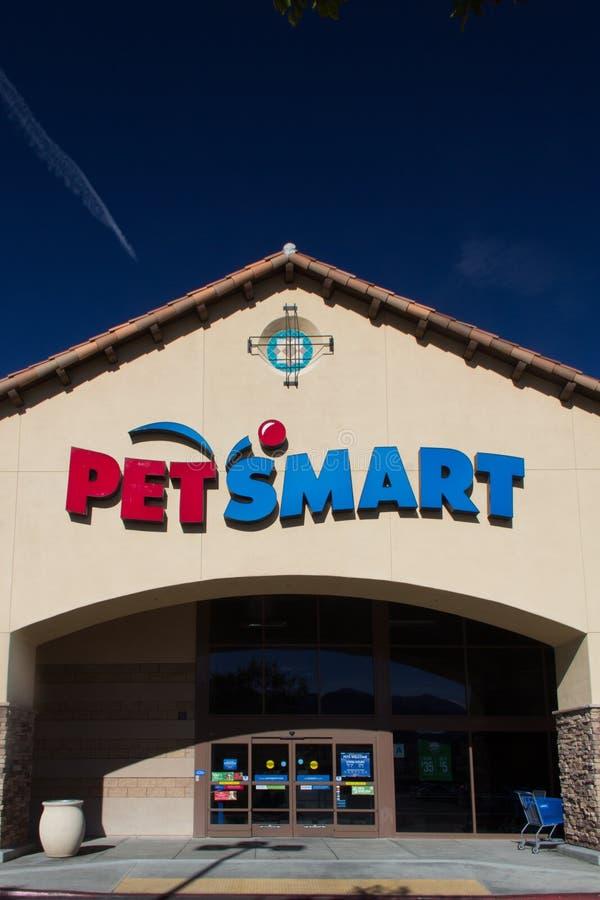 PetSmart-Speicher-Außenansicht lizenzfreies stockbild