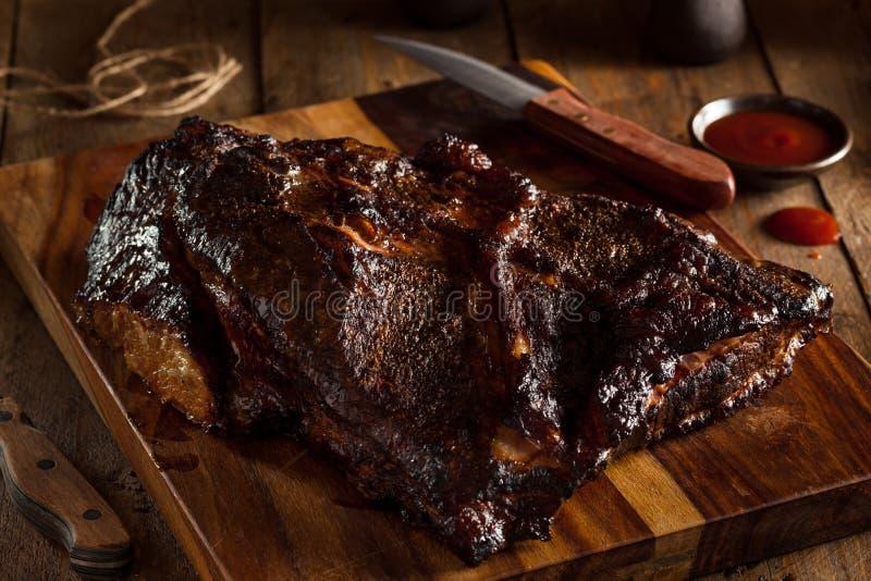 Download Petto Di Manzo Affumicato Casalingo Del Barbecue Immagine Stock - Immagine di proteina, cotto: 55351325