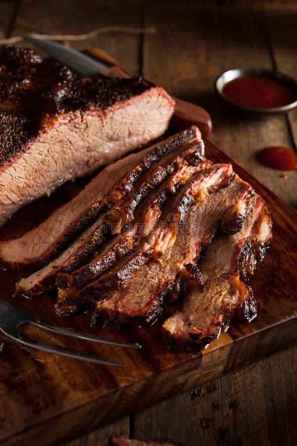 Download Petto Di Manzo Affumicato Casalingo Del Barbecue Fotografia Stock - Immagine di condimento, offerta: 55351428