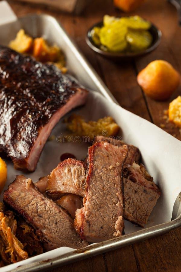 Download Petto Di Manzo Affumicato Casalingo Del Barbecue Fotografia Stock - Immagine di proteina, unhealthy: 55351452