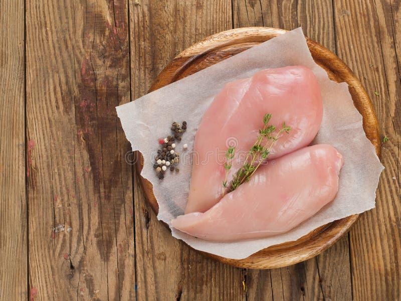 Petto di pollo immagini stock