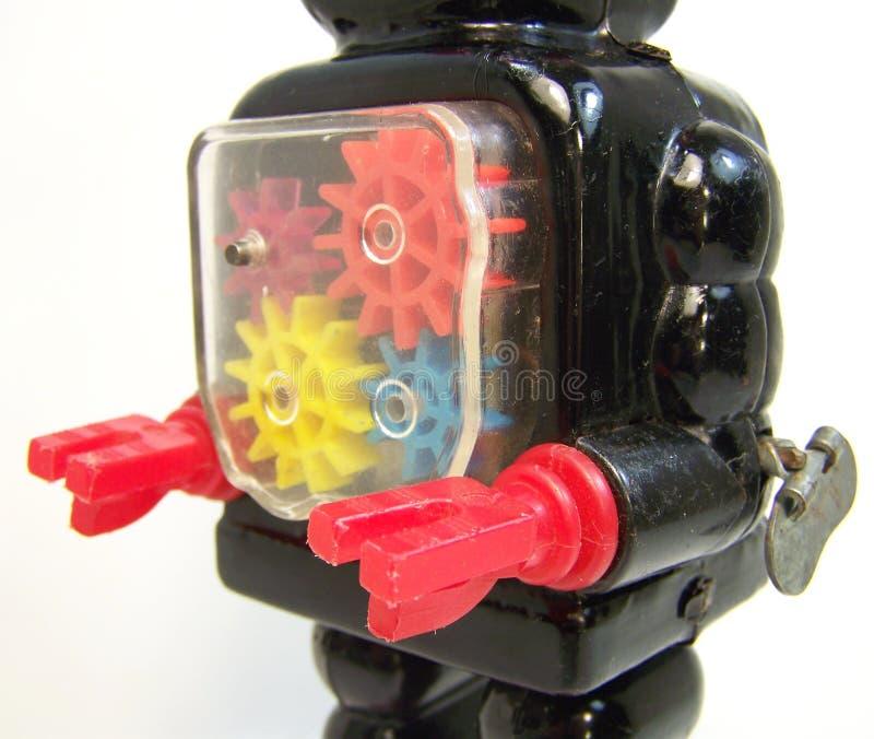 Petto meccanico del robot immagini stock