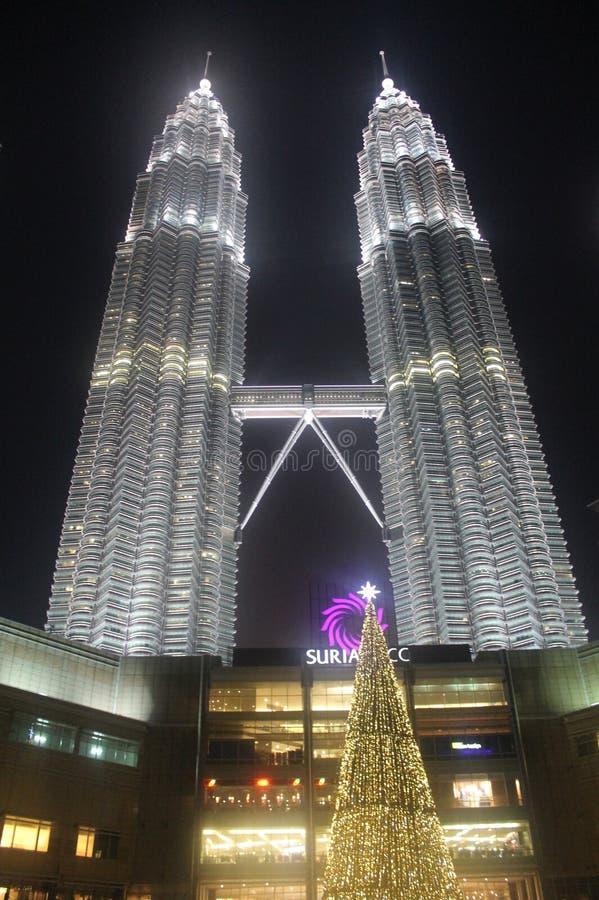 Pettronas Góruje, Kuala Lumpur, Malaisia obraz royalty free