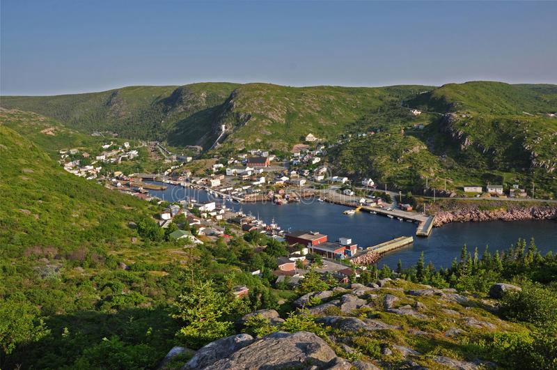 Petty Harbour Maddox Cove stock photos