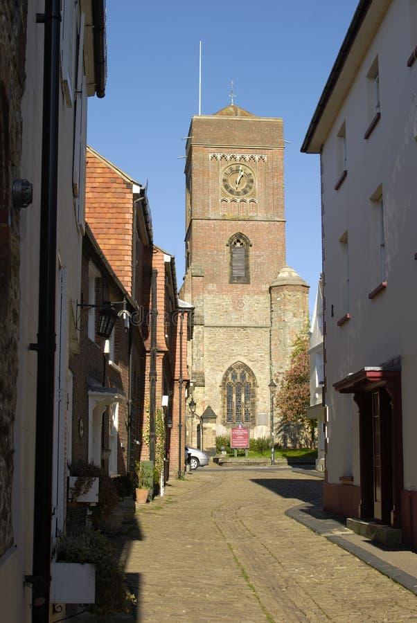 Petworth in West-Sussex. Engeland royalty-vrije stock afbeeldingen
