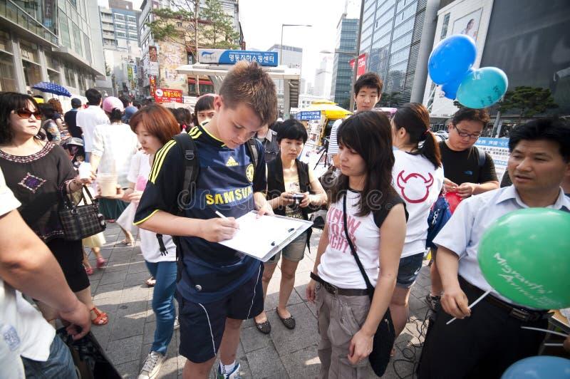Petyci podpisywanie obrazy stock