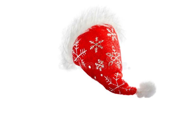Peu chapeau rouge de Noël photos libres de droits