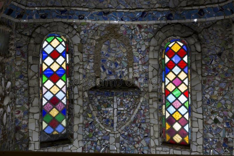 Peu d'église de chapelle sur l'île de Guernesey, R-U photo libre de droits