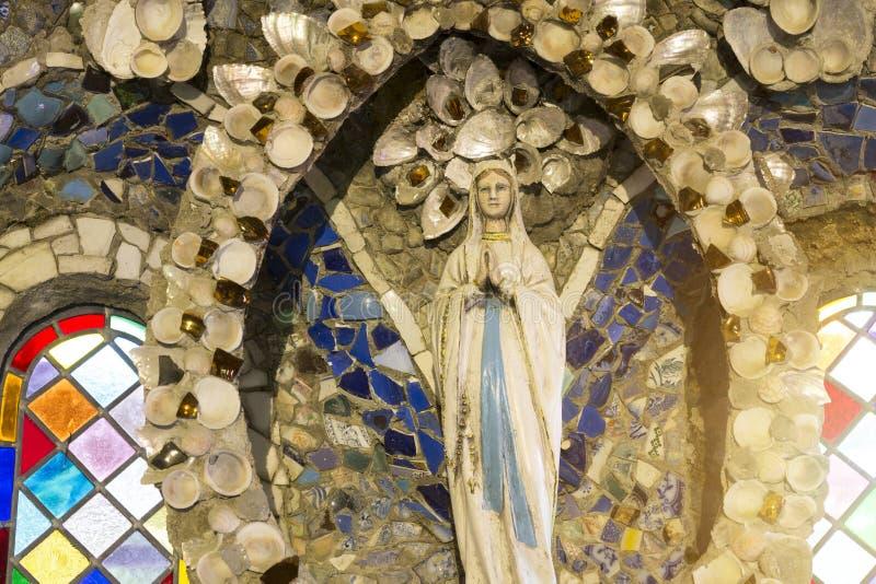 Peu d'église de chapelle sur l'île de Guernesey, R-U photographie stock